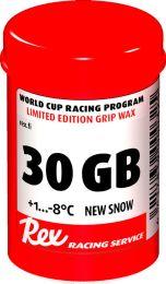 "Rex 30GB Racing Service ""new snow"" Grip wax +1...-8°C, 45g"