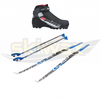 """Ski set Adult """"step"""" with X Rider boots"""